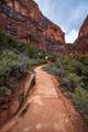 Hiking trail to Angels Landing viewpoint, Utah, USA - PhotoDune Item for Sale