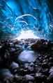Ice cave texture, Vatnajokull glacier, Iceland - PhotoDune Item for Sale