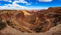 Panorama of Shafer Trail, Canyonlands National Park near Moab, Utah, USA - PhotoDune Item for Sale
