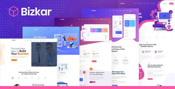 Bizkar - Creative Multi-Purpose HTML Template