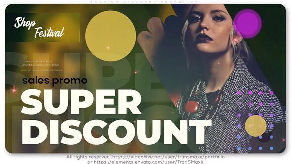 Fashion Discount Promotion