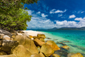 Nudey Beach on Fitzroy Island, Cairns, Queensland, Australia, Great Barrier Reef - PhotoDune Item for Sale