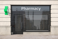 Pharmacy store or drugstore exterior design. - PhotoDune Item for Sale