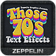 70s Text Effects - GraphicRiver Item for Sale