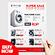 Product Flyer Template - Washing Machine - GraphicRiver Item for Sale