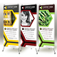 Honeycomb Roll-up Banner - GraphicRiver Item for Sale