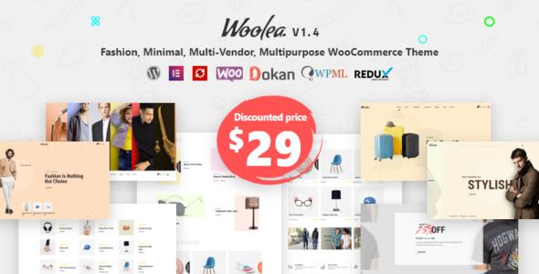 Woolea | Minimal WooCommerce Theme 2