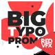 Big Typo Promo - VideoHive Item for Sale