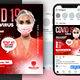 Covid-19  Flyer & Social Media Post Templates - GraphicRiver Item for Sale