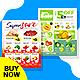 Supermarket & Grocery Flyer Bundle - GraphicRiver Item for Sale