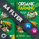 Organic Farming Flyer Templates - GraphicRiver Item for Sale