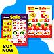 Supermarket Promotion Flyer Bundle - GraphicRiver Item for Sale