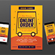 Food Delivery Fyer Instagram - GraphicRiver Item for Sale