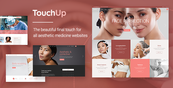 TouchUp – Cosmetic and Plastic Surgery Theme Preview