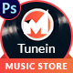 TuneIN PSD Template - ThemeForest Item for Sale