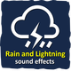 Rain and Lightning - AudioJungle Item for Sale