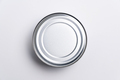 Aluminium can food view from top - PhotoDune Item for Sale