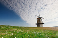 charming windmill over blue sky - PhotoDune Item for Sale