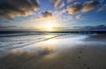 beautiful sunset over sea beach - PhotoDune Item for Sale