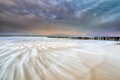 sea waves at long exposure during sunset - PhotoDune Item for Sale