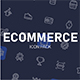 Ecommerce and Shop icon pack - GraphicRiver Item for Sale