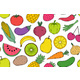 Pattern with Vegetables and Fruits - GraphicRiver Item for Sale
