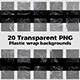 Plastic Wrap Overlay Square Background Textures - GraphicRiver Item for Sale