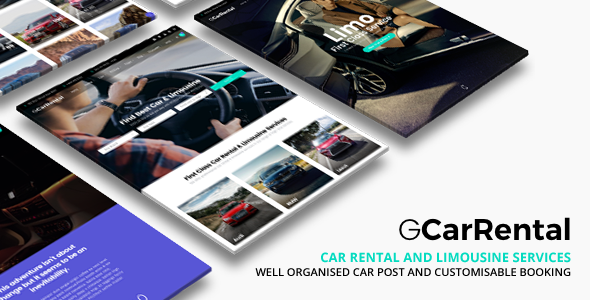 Grand Car Rental | Limousine WordPress