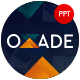 Oxade Business Presentation Template - GraphicRiver Item for Sale