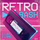 New Retro Wave Flyer 80s VHS Template v4 - GraphicRiver Item for Sale