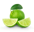 Lime closeup isolated on a white background. - PhotoDune Item for Sale