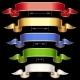 Ribbon set with adjusting length. Vector frame iso - GraphicRiver Item for Sale