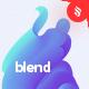 Blend - Gradient Liquid Shape Background Set - GraphicRiver Item for Sale