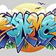 Summer Graffiti Lettering - GraphicRiver Item for Sale