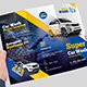 Car Wash Tri-fold Brochure - GraphicRiver Item for Sale