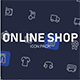 Online Shop icon pack - GraphicRiver Item for Sale