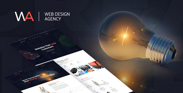 Wagency - Web Design WordPress Theme