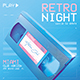 New Retro Wave Flyer 80s VHS Template v5 - GraphicRiver Item for Sale