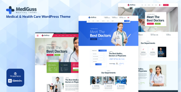 Mediguss – Medical Theme Preview