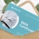 Dental Clinic Gift Certificate - GraphicRiver Item for Sale