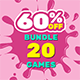 Bundle #3   20 HTML5 Games   Construct 2   Construct 3   Capx   C3p - CodeCanyon Item for Sale
