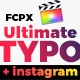 UltimateTypo - 120 Titles Pack FCPX - VideoHive Item for Sale