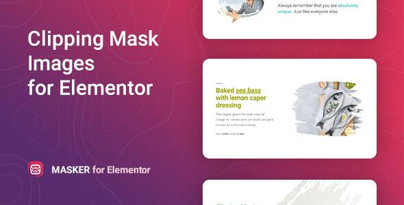 Masker – Clipping Mask for Elementor