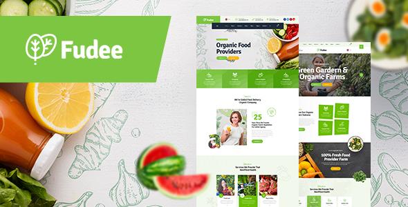 Fudee - Organic Food HTML5 Template