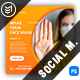 Covid-19 Instagram Post Template - GraphicRiver Item for Sale