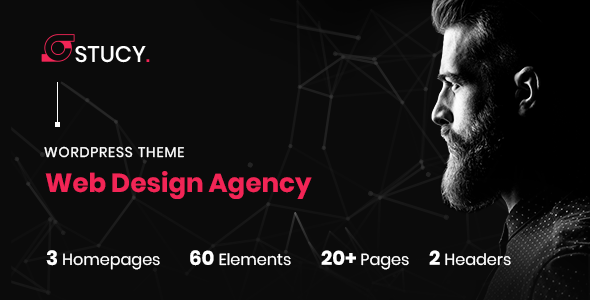 Stucy - Web Design Agency WordPress Theme