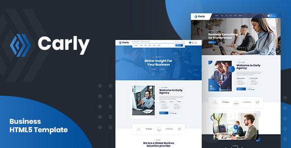 Carly - Multipurpose Business HTML5 Template