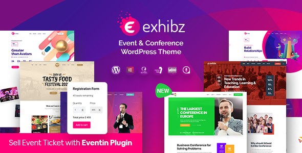 Exhibz | Event Conference WordPress Theme & Tickets Selling