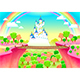 Fantasy Landscape with Castle and Bridge - GraphicRiver Item for Sale