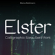 Elster - Calligraphic Sans-Serif Font - GraphicRiver Item for Sale